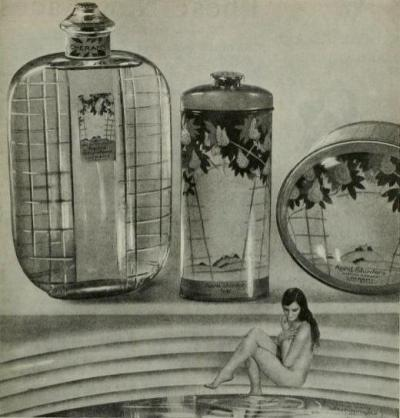 holdthisphoto:  From an ad for Cheramy cologne, 1930