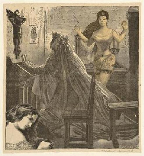regardintemporel:  Max Ernst - Desire, Illustration for Carmel, Chapter 2,  1929-1930