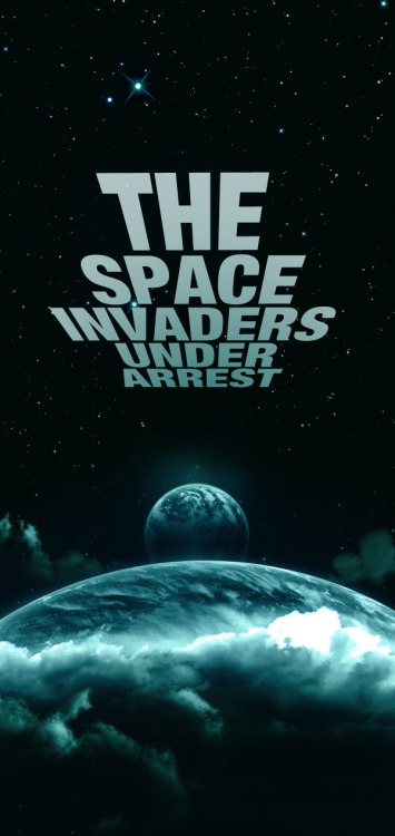 it8bit:  The Space Invaders Under Arrest - by Rafael Drummond Website | Twitter