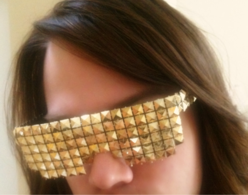 STUDS in gold!  $90  Email akakailynnbrae@gmail.com for ordering info :-.)
