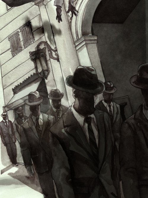 mayorofawesometown:  Hollow Men by Owen Freeman