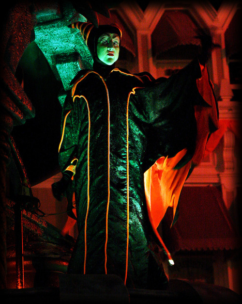 """Maleficent at the Mickey's Not So Scary Halloween Parade in the Magic Kingdom."""