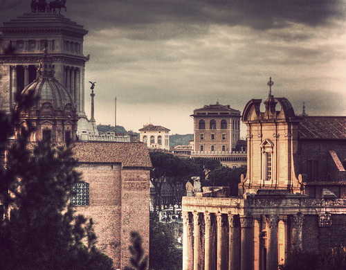 allthingseurope:  Clouds over Rome (by Fernan Federici)