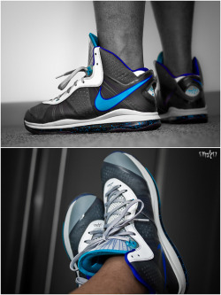 "Nike Lebron 8 v2 ""Summit Lake Hornets"" on Flickr."