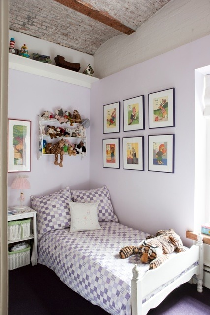 I am absolutely painting my guest bedroom in this color (via Architect Visit: Diana Kellogg in NYC : Remodelista)