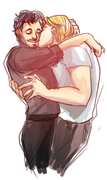 ironfries:    Here, have some Steve and Tony.
