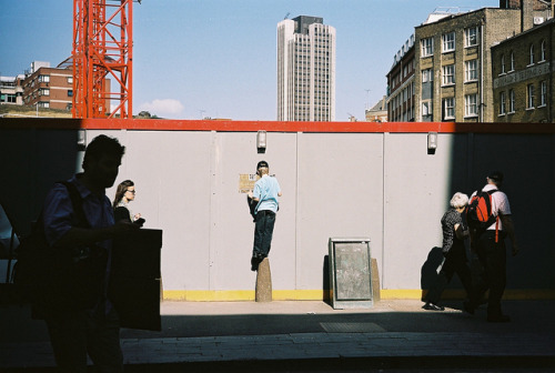 xgray:  Construction Site. London by Dominik Morbitzer on Flickr.