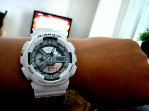 watchs:  You know I love a good G-shock.