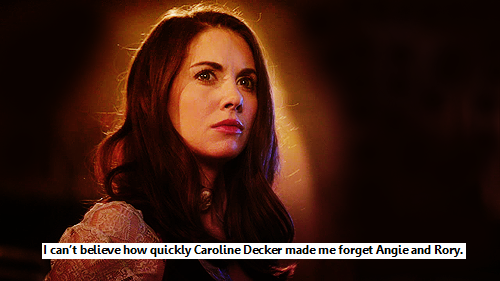 CAROLINE.  DECKER.  YOU GUYS.