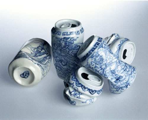 simplypi:  Drinking Tea, 2007 by Lei Xue