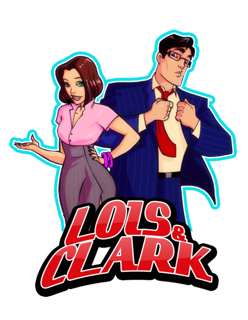 youramazonsister:  Lois and Clark by ~Kanish  .