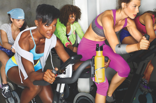 dailyskinny:  womenshealthmag:  Bike Your Butt Off! Why cycling and spinning are great workouts Back when you were a kid, hopping on a two-wheeler wasn't a way to burn off last night's ice cream cone—it was fun. Today, many women are rekindling that childhood love by pedaling to work, competing in races, or just tooling around town. They're finding that biking isn't just a welcome break from mind-numbing elliptical sessions: It's a surefire way to slim down and tone your tush. Even a casual ride delivers a one-two punch of cardio and muscle strengthening. A 135-pound woman can blast nearly 500 calories in an hour of cycling at a comfortable clip. And each pedal stroke works your entire lower body and your core, sculpting a tight body. Hit the saddle! Our guide to biking: Proper spinning form and technique Lead your own spinning workout: what to do and what music to match it with Tips for handling tricky biking terrain The best bikes and helmets How to fix a flat bike tire and other maintenance tips Photo Munetaka Tokuyama   Yay, cycling! Off to spin class, Hoorah!