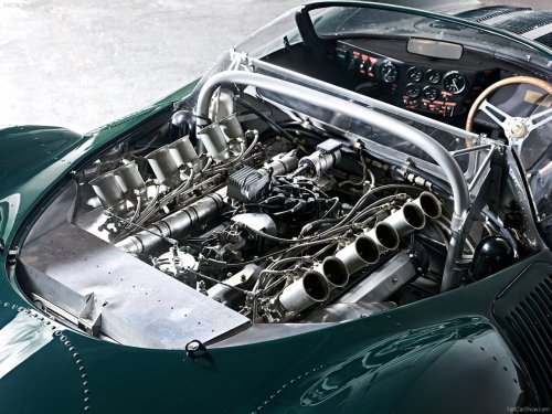 definemotorsports:  Jaguar XJ13 engine (1966) Only one of these was made, absolute work of art.