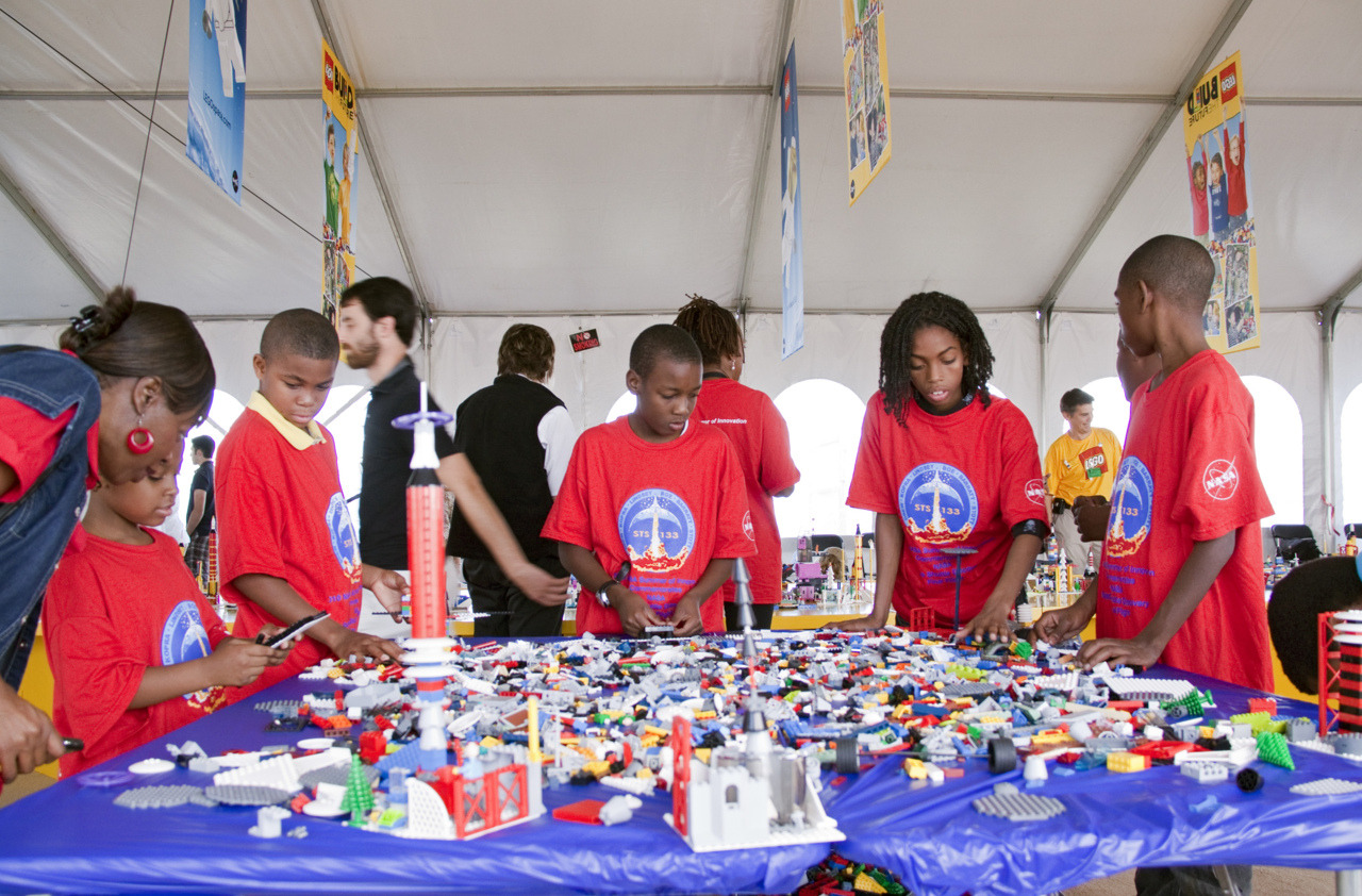"itsfullofstars:  NASA and LEGO Partnership Inspires Kids to Pursue Science and Engineering NASA announced Tuesday the signing of a Space Act Agreement with The LEGO Group to conduct education and public outreach activities aimed at increasing participation in science, technology, engineering and math fields. To commemorate the beginning of this partnership, the crew of space shuttle Discovery's STS-133 mission will carry a small LEGO® shuttle when it launches Wednesday, Nov. 3, from NASA's Kennedy Space Center in Florida. The partnership marks the beginning of a three-year agreement that will use the inspiration of NASA's space exploration missions and the appeal of the popular LEGO bricks to spur children's interest in STEM. The theme of the partnership is ""Building and Exploring Our Future."" The LEGO Group will release four NASA inspired products in their LEGO CITY line next year. The space-themed products will vary in terms of complexity, engaging audiences from young children to adult LEGO fans. Each product release will contain NASA-inspired education materials.  Keep reading."