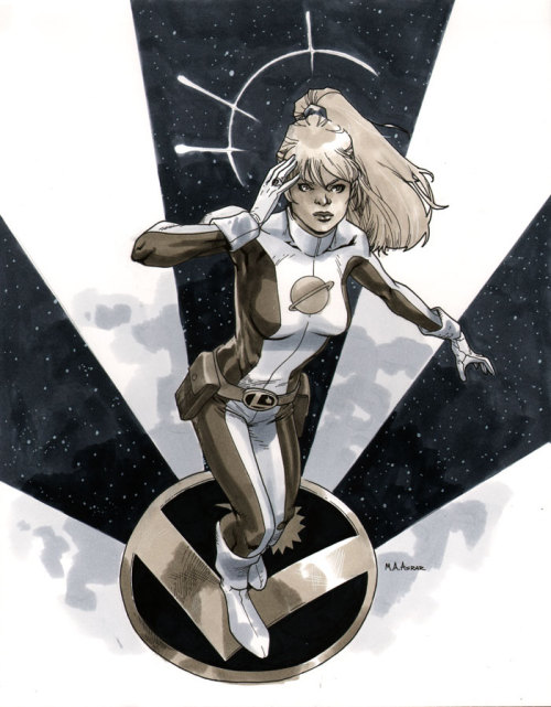 NYCC 2011 Pre-Show Commission - Saturn Girl
