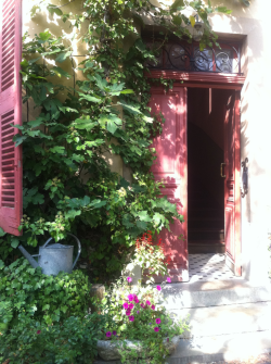 the entrance to cezanne's studio.