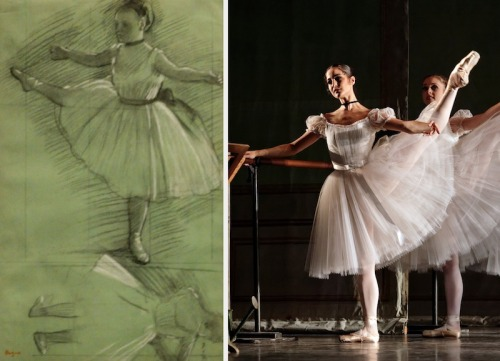 theballetbag:  Perfect pairing: Degas & Bournonville