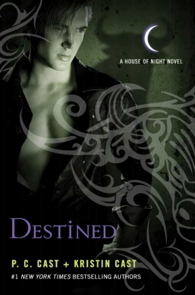 The prologue and the first chapter of Destined are available for your viewing pleasure up at the official House of Night website, if your are interested click here.