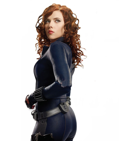 supespam:  Scarlett as the Widow