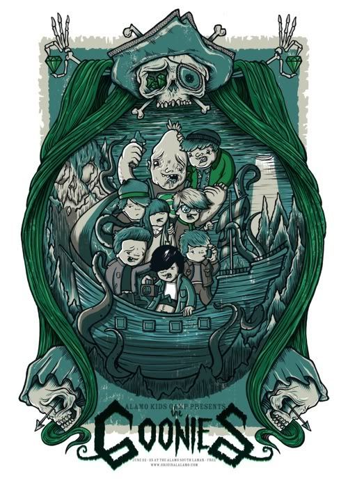 The Goonies by Drew Millward