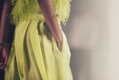oscarprgirl:  this spring you will be wearing chartreuse. i mean, if you like it. (i love it). photo by james nord.