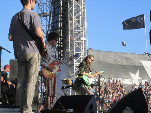 seeing MGMT live on huntington beach then meeting them backstage= I LIVE 4 MUSIC!