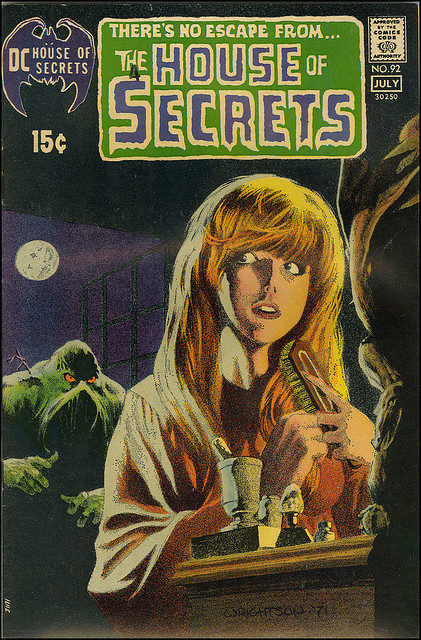 House Of Secrets #92 (7/1971) 1st appearance of The Swamp Thing by Bernie Wrightson