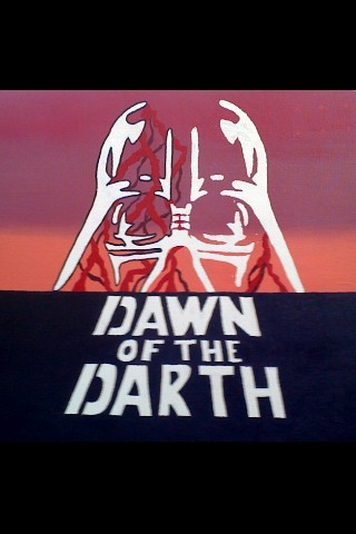 Mash-Up Time #DawnoftheDead #StarWars - Dawn of the Darth via   @LeiaFacewalker