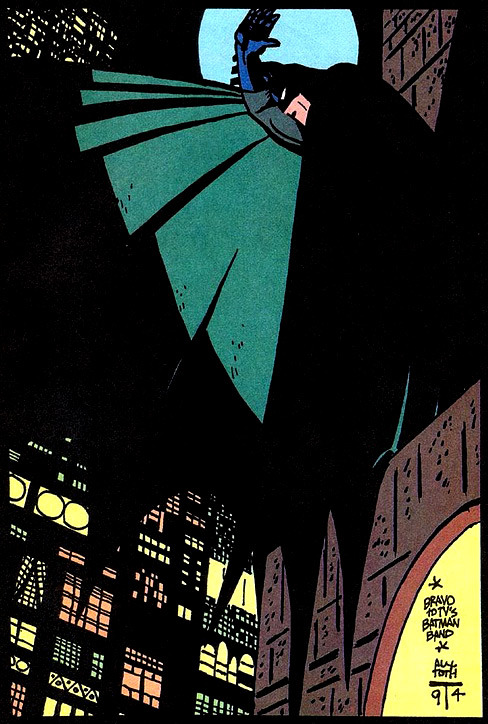 fumettidccomics:  heyoscarwilde:  Liquidator. illustration by Alex Toth :: via flickr.com  ,