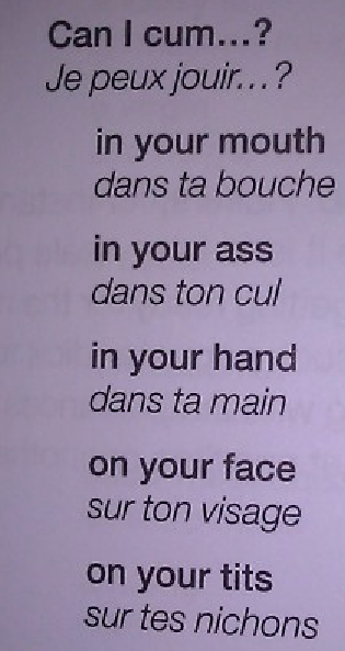 In case the label wants us to learn French.