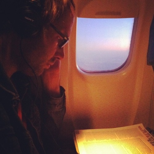 Daniel is a wonderful traveling companion.  (Taken with instagram)