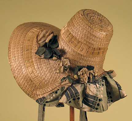 oldrags:  Bonnet, 1820's US