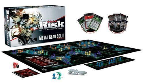 Metal Gear Solid themed Risk!!!! Ya know… I hate Risk…. but damn… I would play this!!!