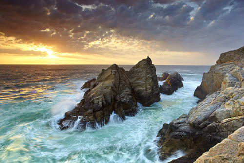 pandakeegan:  Pinnacle Rock #3 - Point Lobos, California by PatrickSmithPhotography on Flickr.