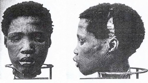 aphoticoccurrences:  sovereigntyordeath:  Severed Heads of Nama Prisoners - Complements of German ' race science' geneticist Eugen Fischer. African heads were sent to Germany & displayed in homes & offices as trophies.  NEVER FORGET
