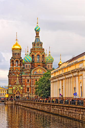 allthingseurope:  Church of the Savior on Spilled Blood in St. Petersburg, Russia (by Tony Gro)