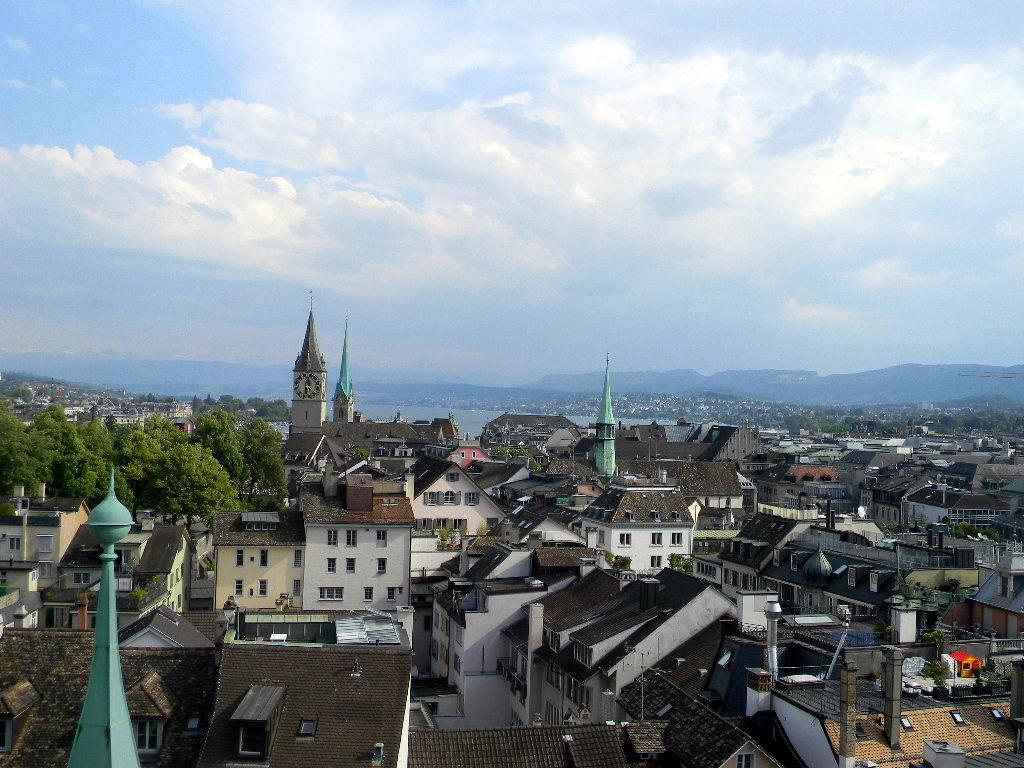 View over Zurich, Switzerland