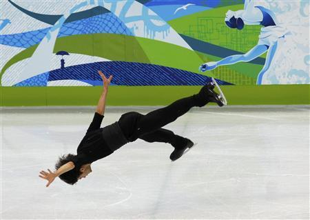 beautiful-shapes:  Stéphane Lambiel, practicing in Vancouver