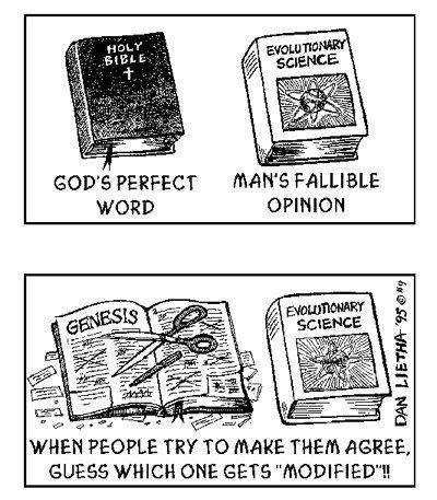 nonplussedbyreligion:  bible vs science text