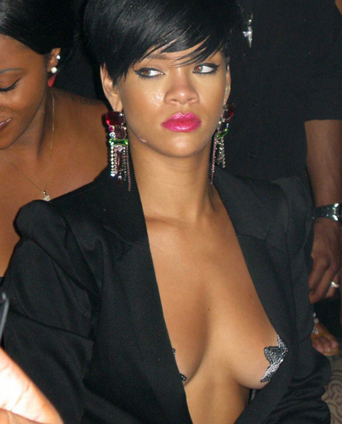 "Irish Farmer Alan Graham has intervened to stop Rihanna getting naked in his field, where she was shooting a new video: ""From my point of view, it was my land, I have an ethos and I felt it was inappropriate. I was unhappy with her state of undress. I wish no ill will against Rihanna and her friends. Perhaps they could acquaint themselves with a greater God."" News at AV Club."