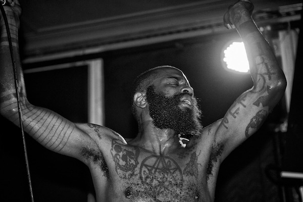Ride - Vocalist - Death Grips - The Old Blue Last, London - September 2011 © Al de Perez