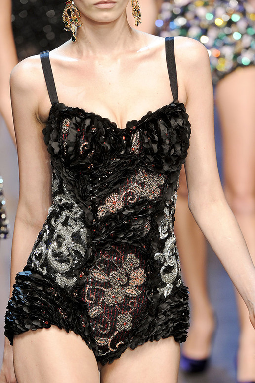 Abbey Lee - Dolce & Gabbana - Spring 2012.