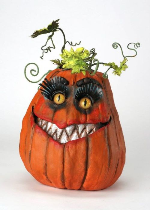 laughingsquid:  CTFO Great Pumpkin ASK (Artists Supporting Kids) by Robin Ator