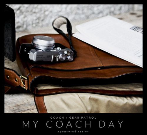 Coach x Gear Patrol