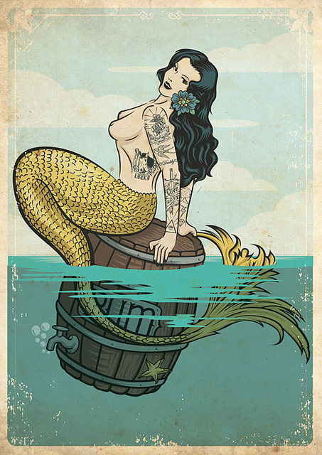 whatshewanted:  i like mermaids too. ;)