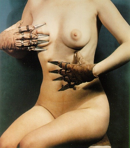 hoodoothatvoodoo:  Paul Outerbridge  Woman with Claws 1937