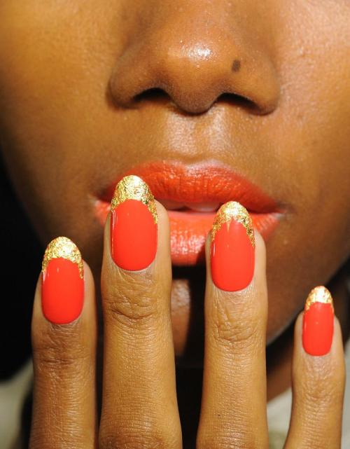 littlemissconceptions:  CND at Norman Ambrose Spring 2012 Must.Grow.Nails #1