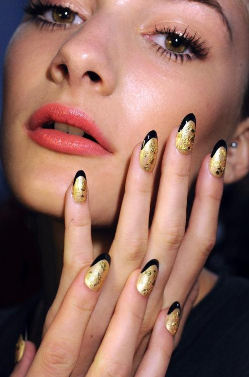 littlemissconceptions:  CND Norman Ambrose Spring 2012. Must.Grow.Nails #2