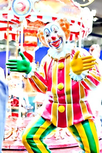 there's just something so creepy about clowns…