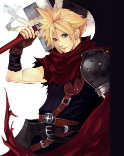 wysheid:  ~FFVII Cloud